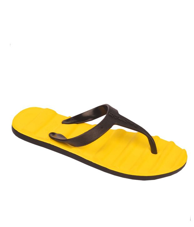 Maico Yellow Flip Flops