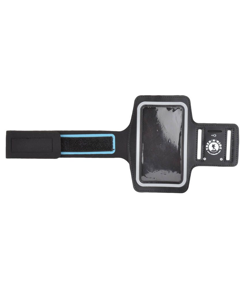 Trek N Ride Arm Band With Phone Holder - Black