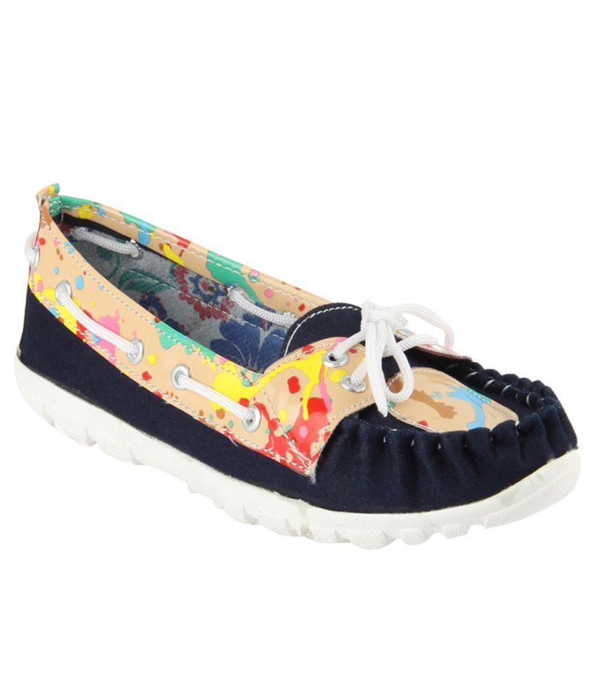 Womens Club Multicolour Casual Shoes