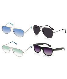 MagJons Multicolor Aviator Sunglasses ( mj6598 )