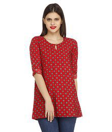 17b3c2a3036497 Red Tops for Women - Buy Red Women Tops Online at Low Prices in ...