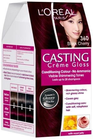 L Oreal Paris Casting Creme Gloss 360 Black Cherry Hair Color