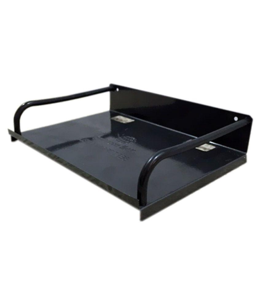 Omkar Furnishers Metal Tray Shelf Stand For Set Top Box