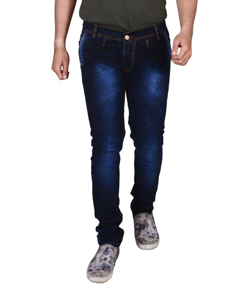 Sr Blue Slim Fit Blue Jeans