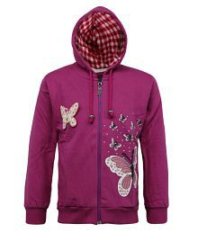 a9bf7938b3d8 Girls Sweatshirts: Buy Girls Sweatshirts Online at Best Prices in ...
