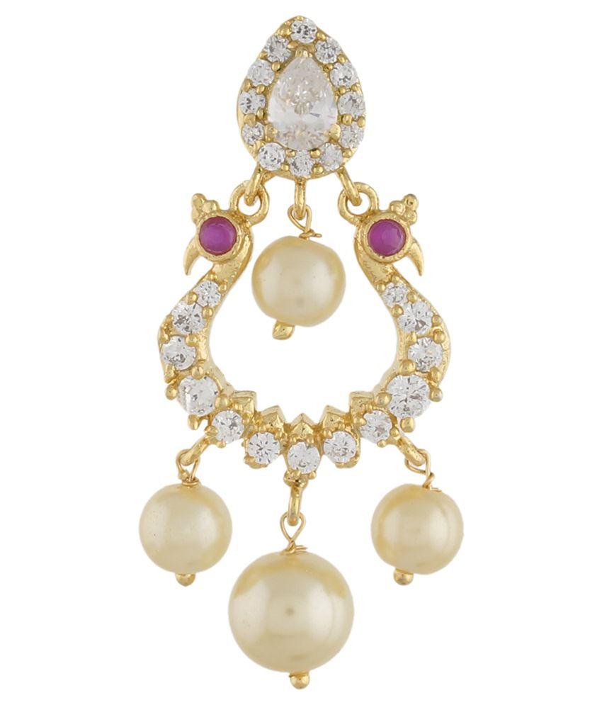 Jewel Planet Multicolour Alloy Hoop Earrings