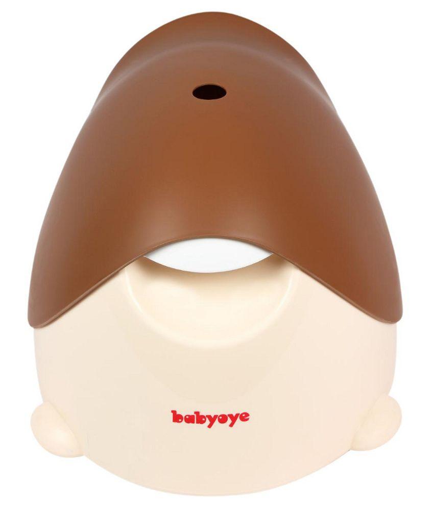 Babyoye Brown Plastic Potty Training Seat: Buy Babyoye Brown Plastic ...