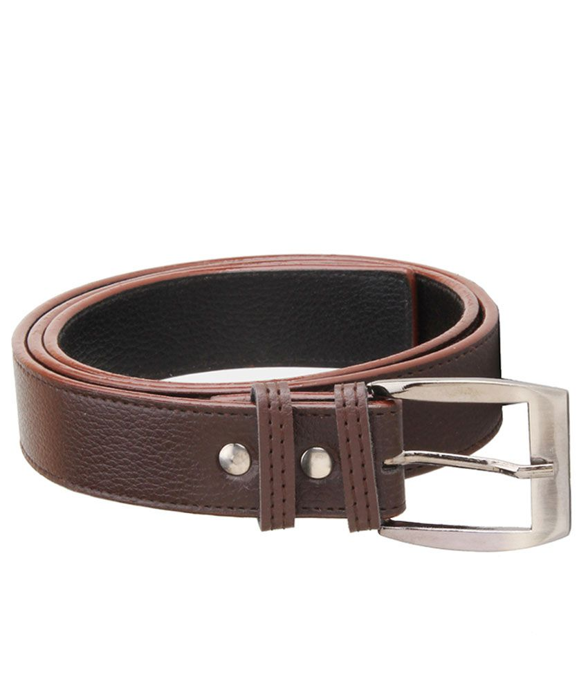 Elligator Brown Formal Single Belt