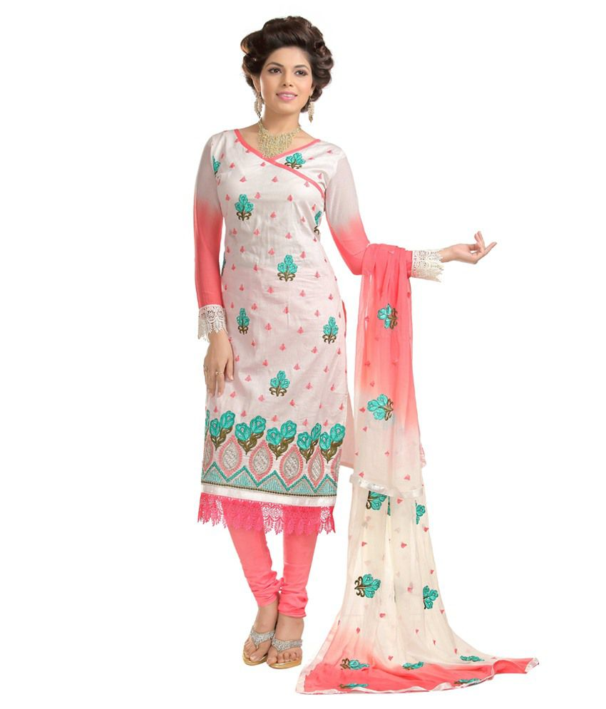 Amar Creation Multi Cotton Unstitched Dress Material