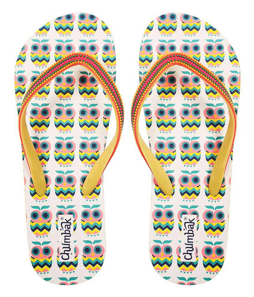 Chumbak Multi Colour Flip Flops