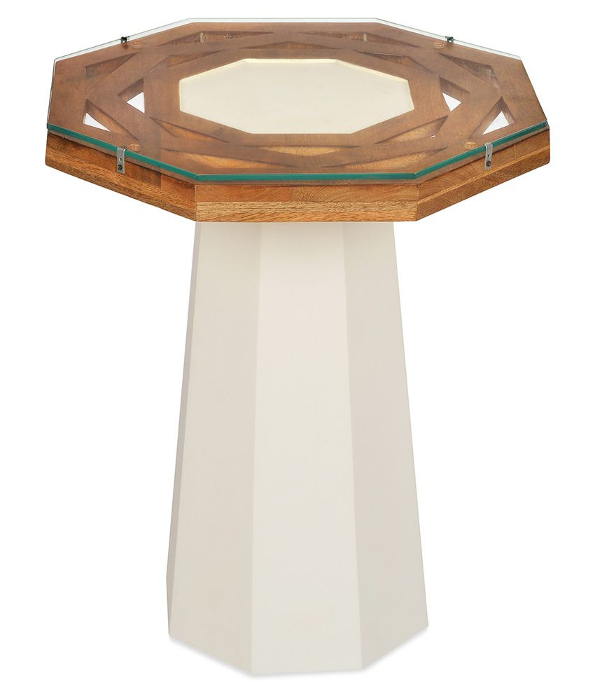 @Home Malibu Solid Wood Side Table