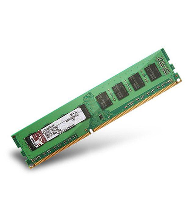 Kingston Value RAM 4GB 1x4GB 1600 MHz DDR3 Non ECC CL11 ...