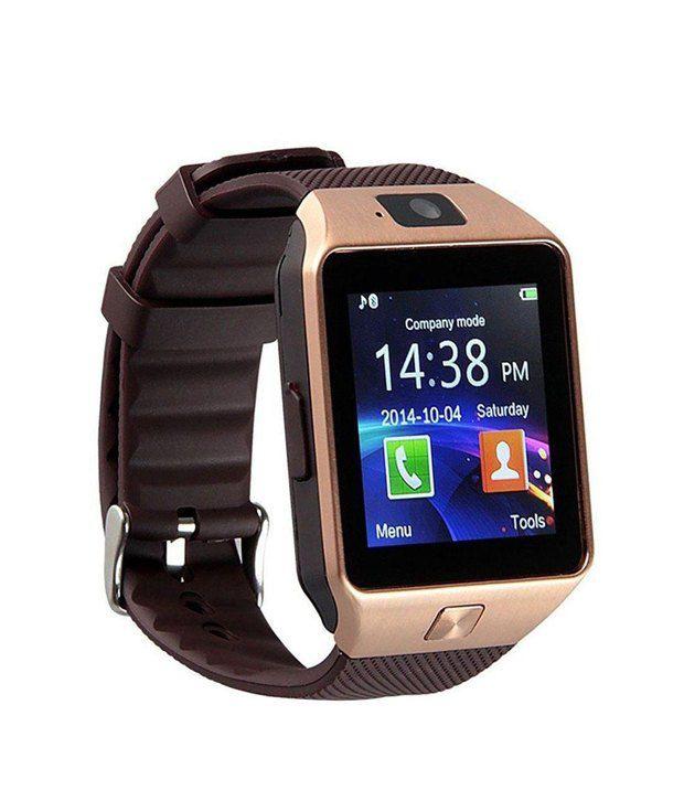 Bingo T30 Gold Bluetooth Smartwatch With Memory Slot & Sim Slot - Buy ...