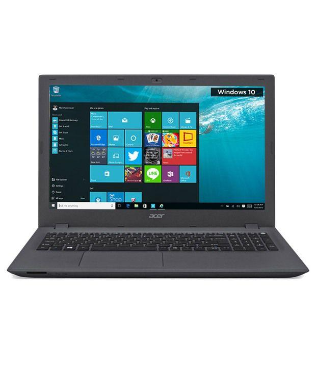 Acer Aspire E5-532 Notebook (UN.MYVSI.002) Notebook (Intel Pentium- 4 GB RAM- 500 GB HDD- 39.62 cm (15.6)- Windows 10) (Grey)