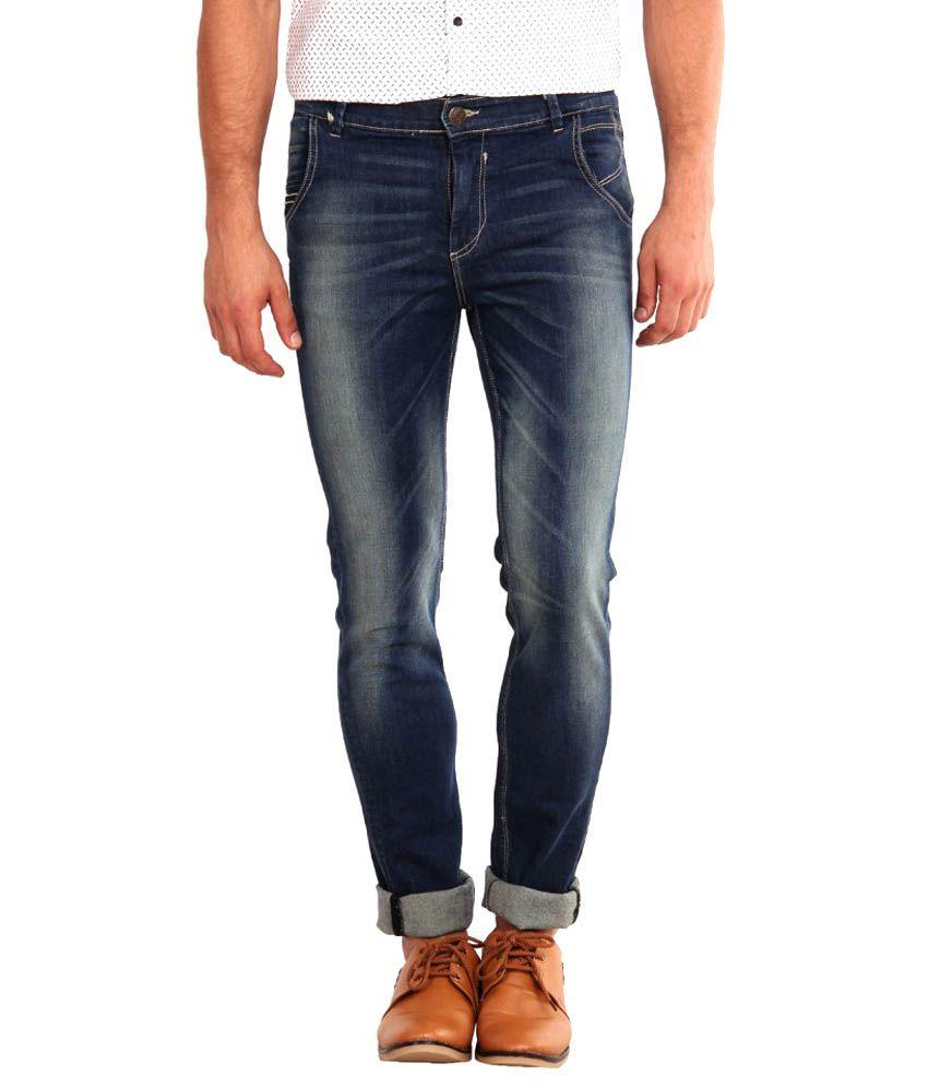 I-voc Blue Slim Fit Jeans
