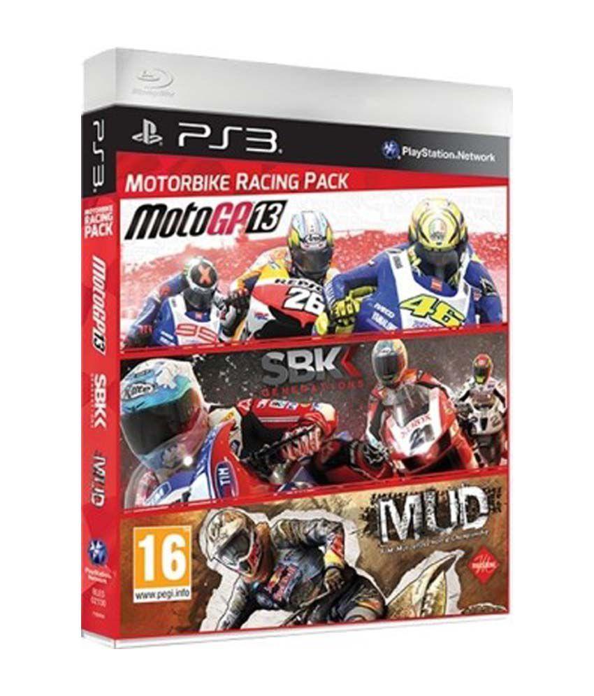 Motorbike Racing Pack Includes 3 Games Motog PS3