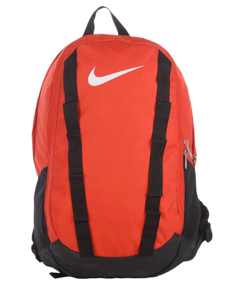 nike orange and black backpack buy nike orange and black