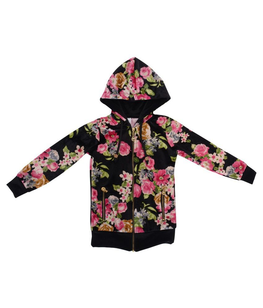 Palakh Multicolour Hooded Jacket