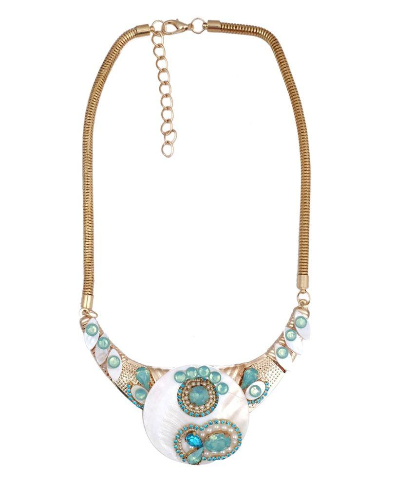 Super Drool Multicolour Alloy Necklace