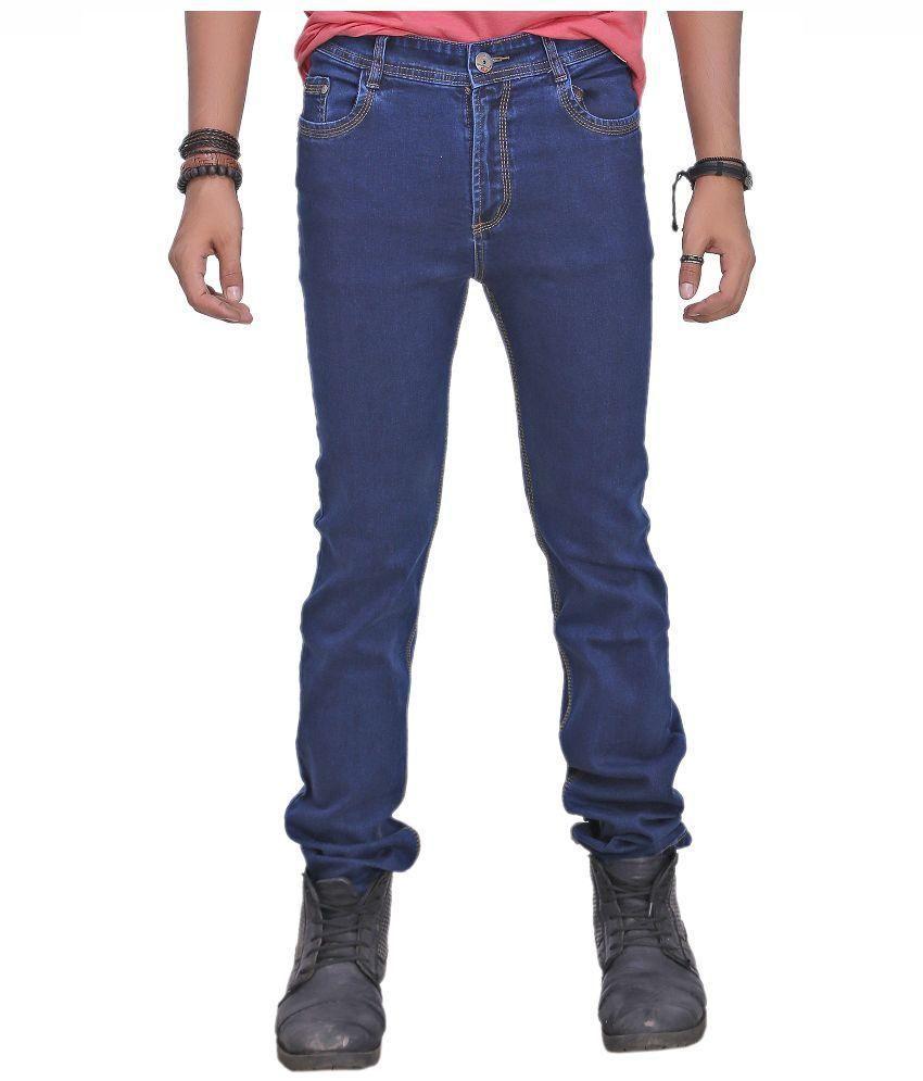Courtyard Blue Regular Fit Jeans