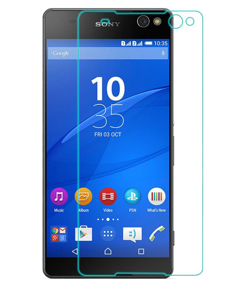 Sony C5 HD Quality 9H 0.30mm Tempered Glass Screen Guard by Ininsight Solutions