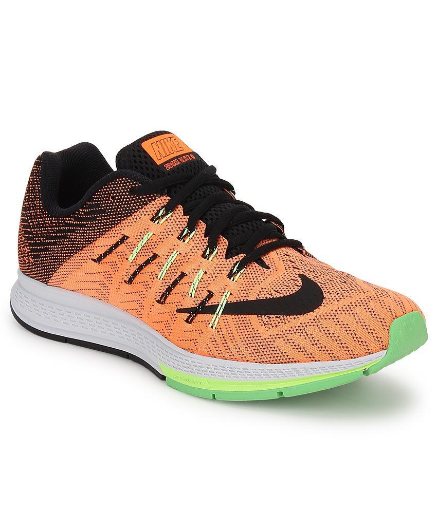 new arrival 1a27a 603fe Nike Air Zoom Elite 8 Orange Sport Shoes