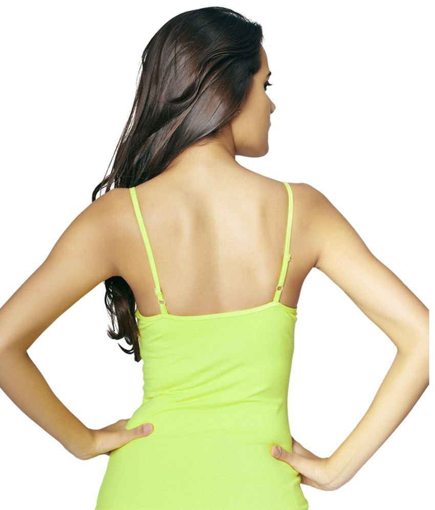 Restless Green Stretchable Singlet
