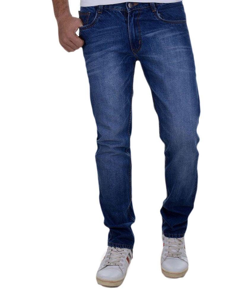 Benmartin Blue Regular Fit Jeans
