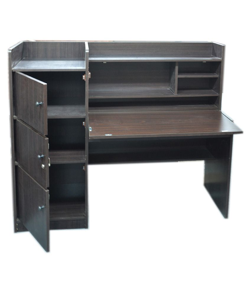 eros study table desk with storage study table cabinet buy eros rh snapdeal com