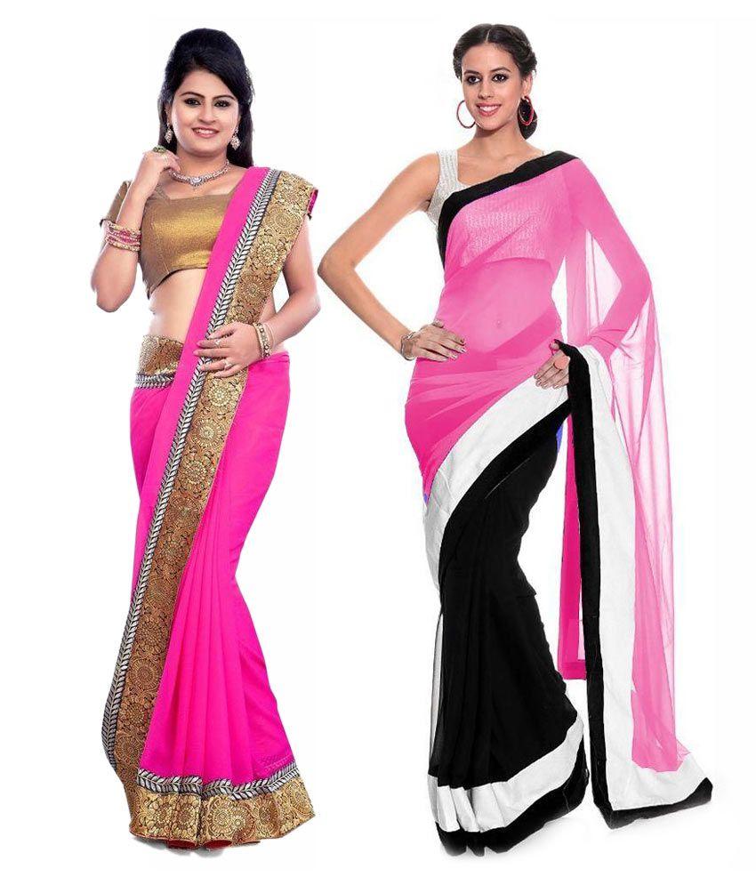 aryan creation pink Pack of 2