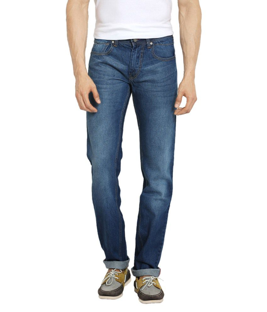 Thisrupt Blue Slim Fit Jeans