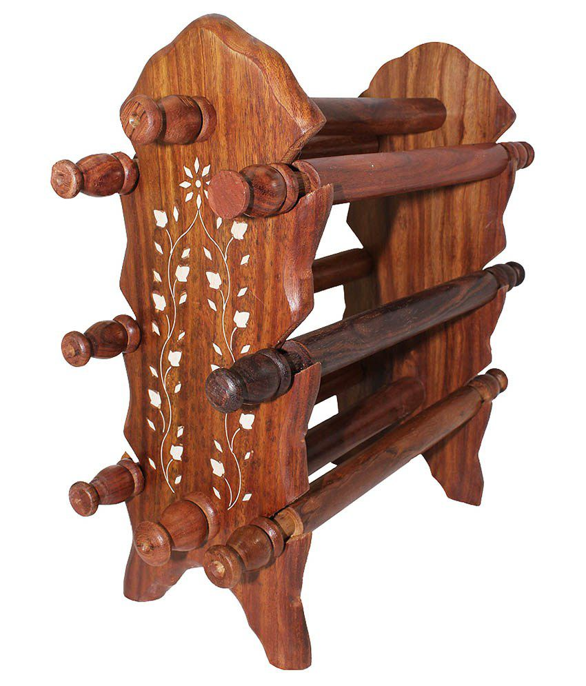 Bangle Stand Designs : Zitter wooden key stand best price in india on th june