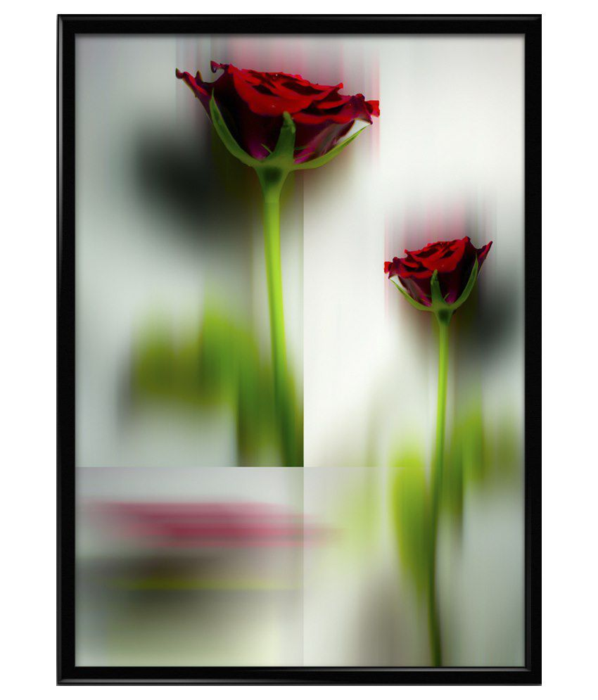 Thefrozenmoment Small Wooden Flowers 15 Art Print