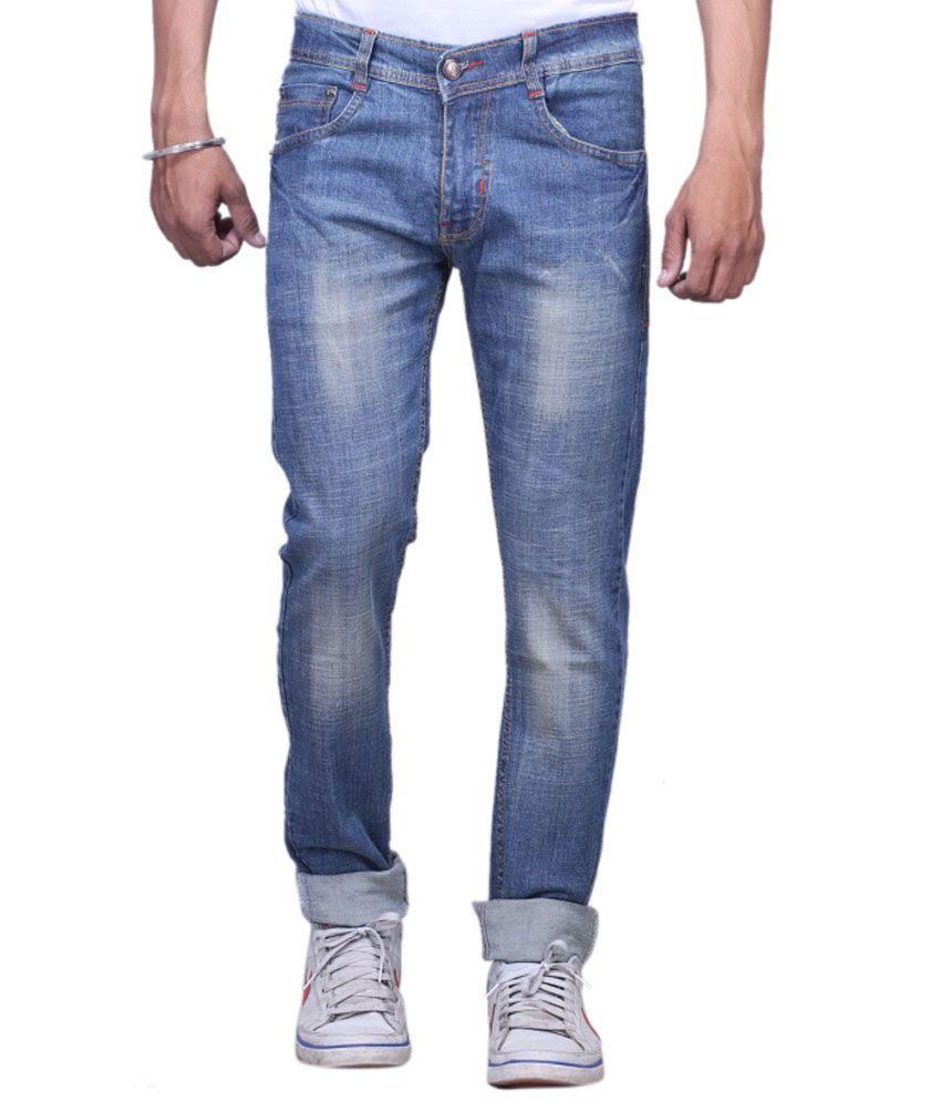 X-cross Blue Slim Fit Jeans