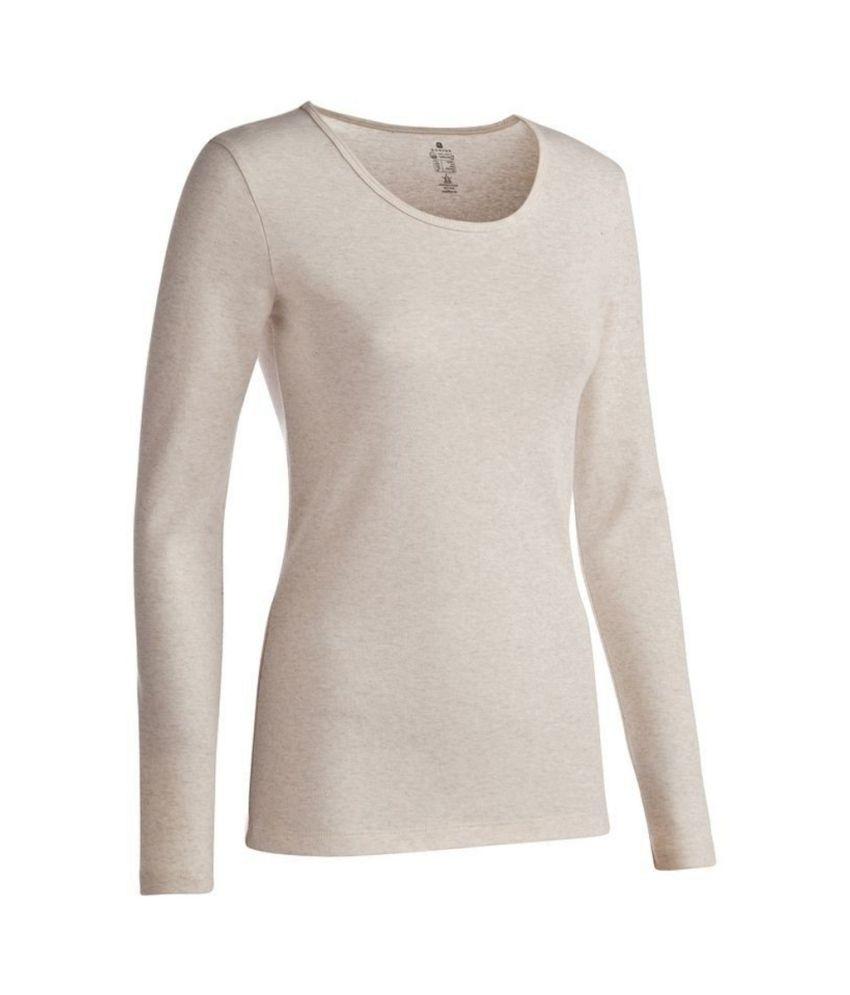 Domyos Long-Sleeved Women T-Shirt