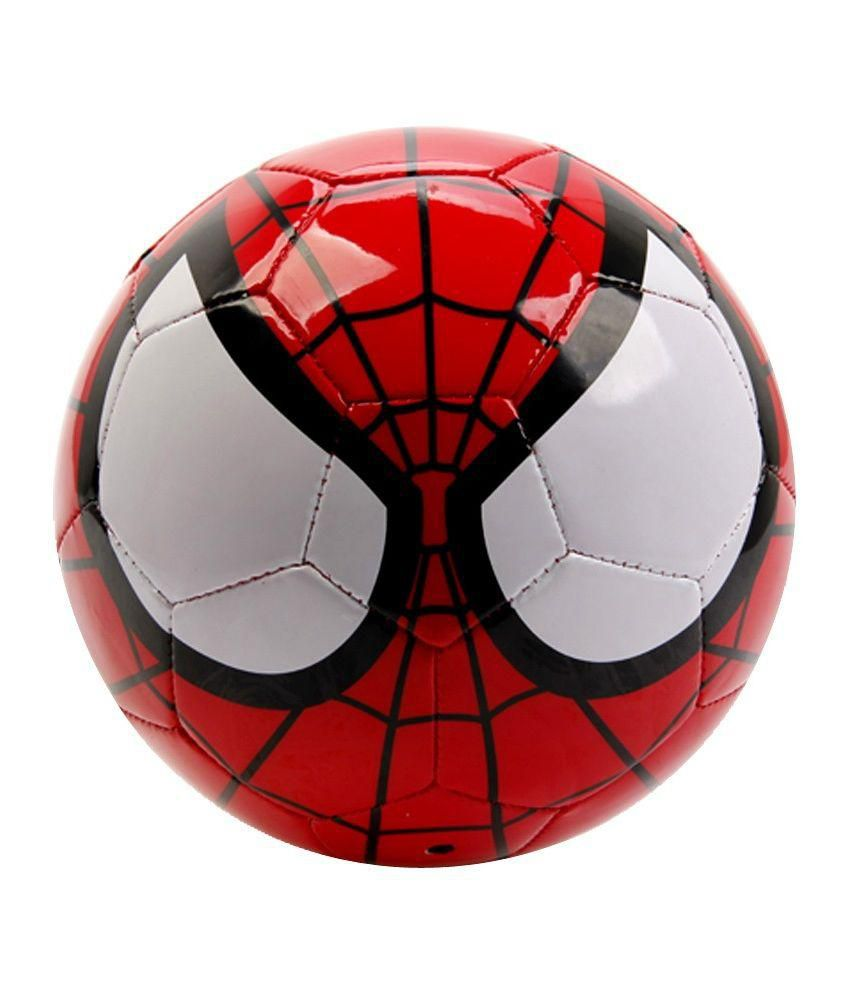 Disney Sipderman Soccer Ball Red