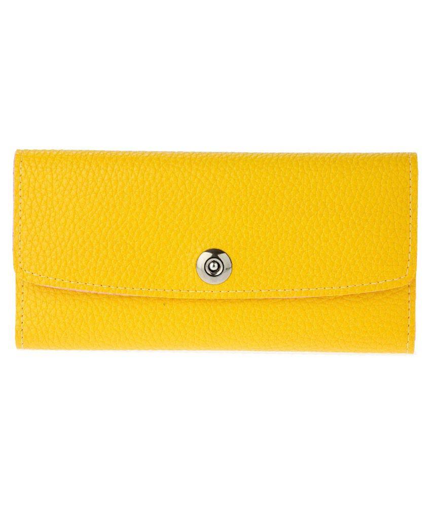 Iva Yellow Regular Wallet