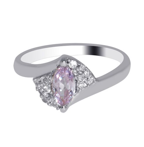 Jewelry Karigiri 92.5 Sterling Silver CZ Ring