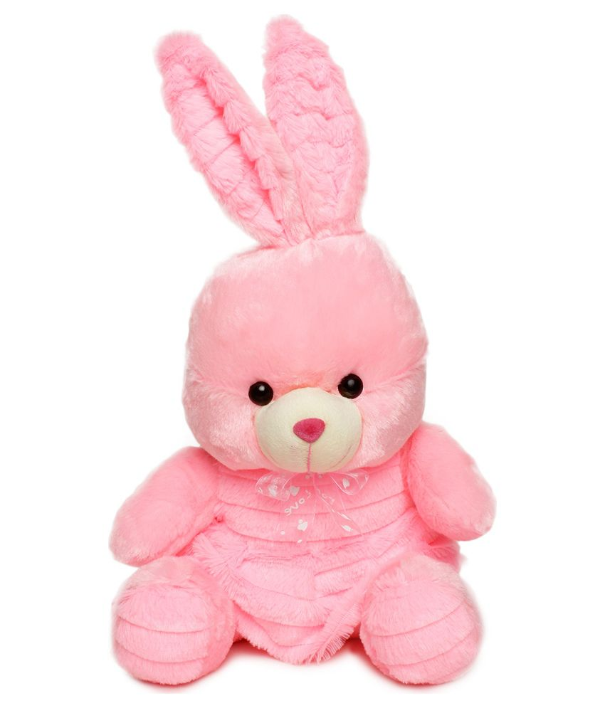 LES Chocolatiers Les Chocolatiers Bunny Soft Toy Pink