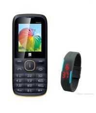 IBALL PRINCE 2 with LED SMART WATCH BAND Black