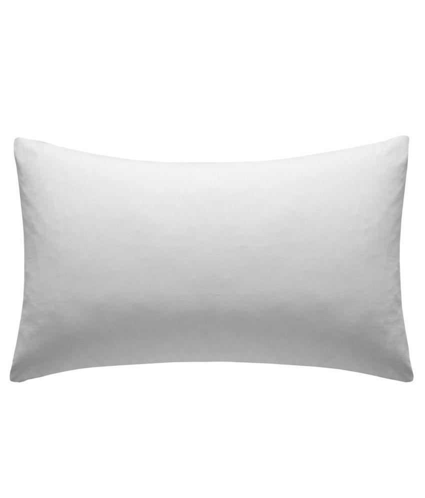 Jdx White Premium Reliance Fiber Pack Of 2 Pillow-39x67