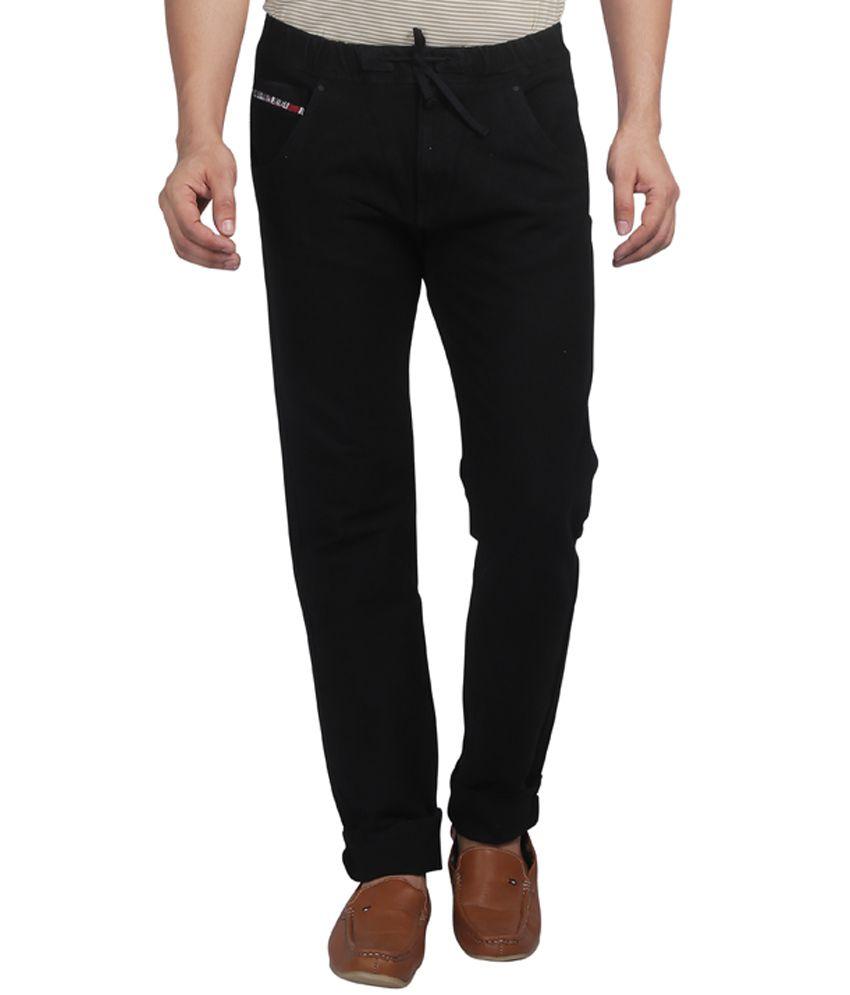 Nostrum Jeans Black Slim Fit Jeans