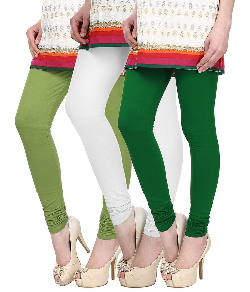 Skyline Trading Multi Color Cotton Leggings