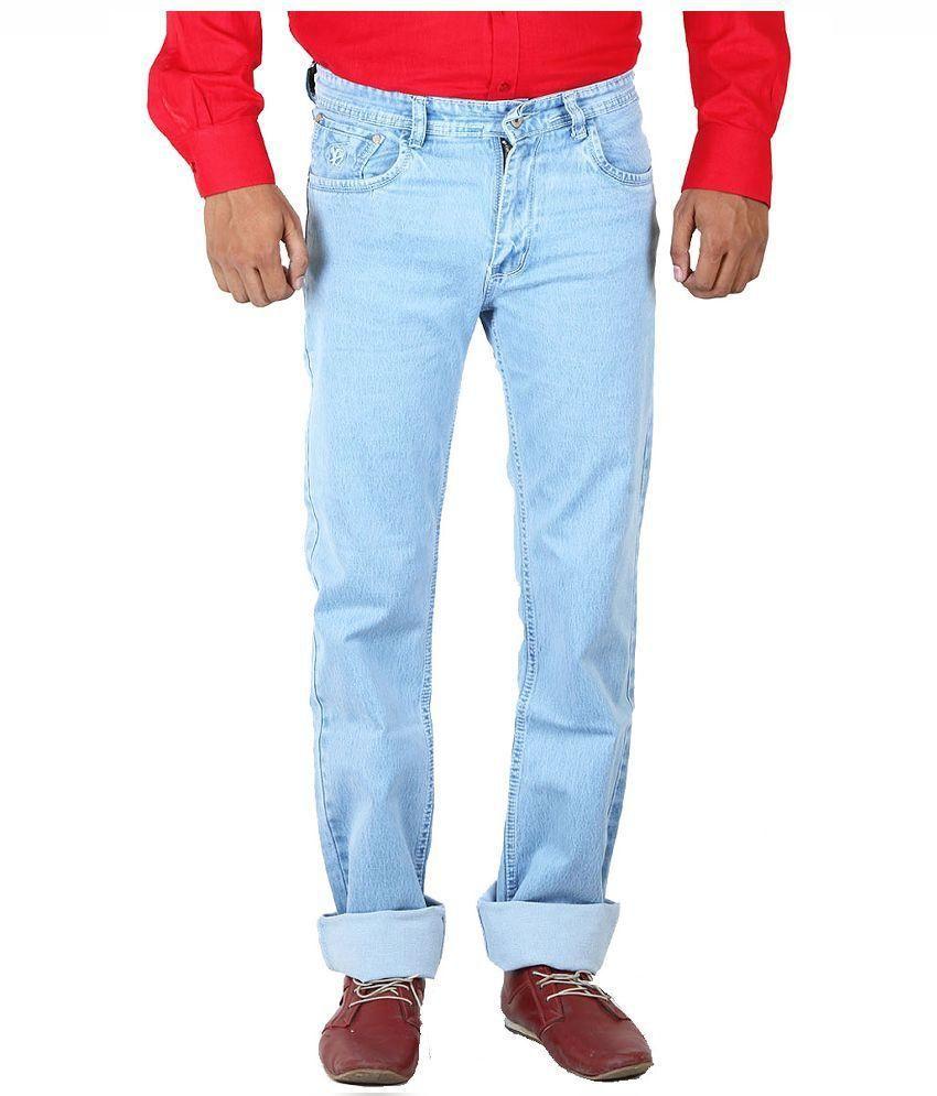 Getabhi Blue Slim Fit Jeans