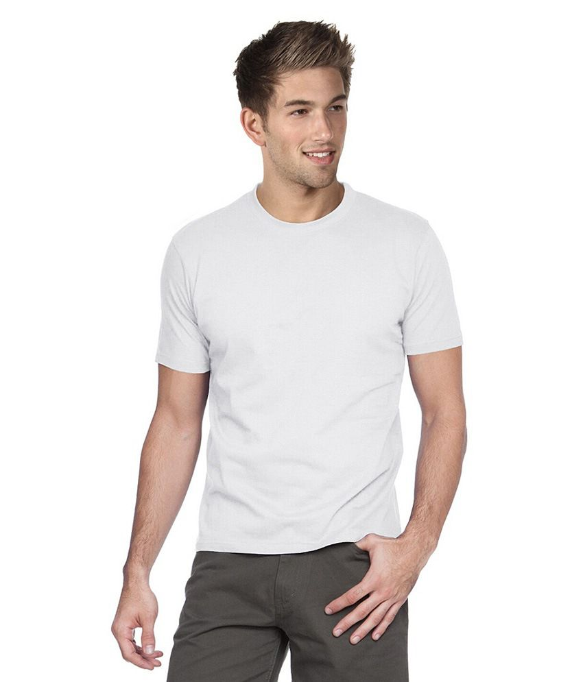 MG White Cotton T-shirt
