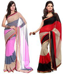 Snapdeal Nilesh Chiffon Combo Offer