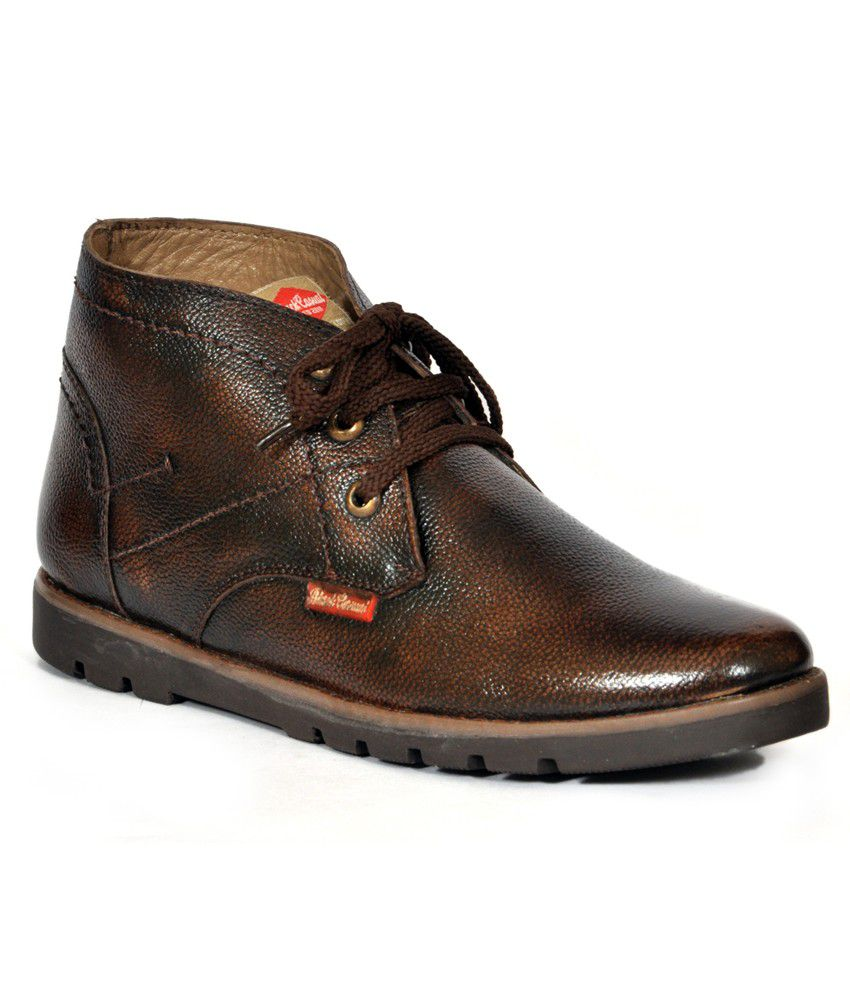 Black Casual Brown Casual Boot
