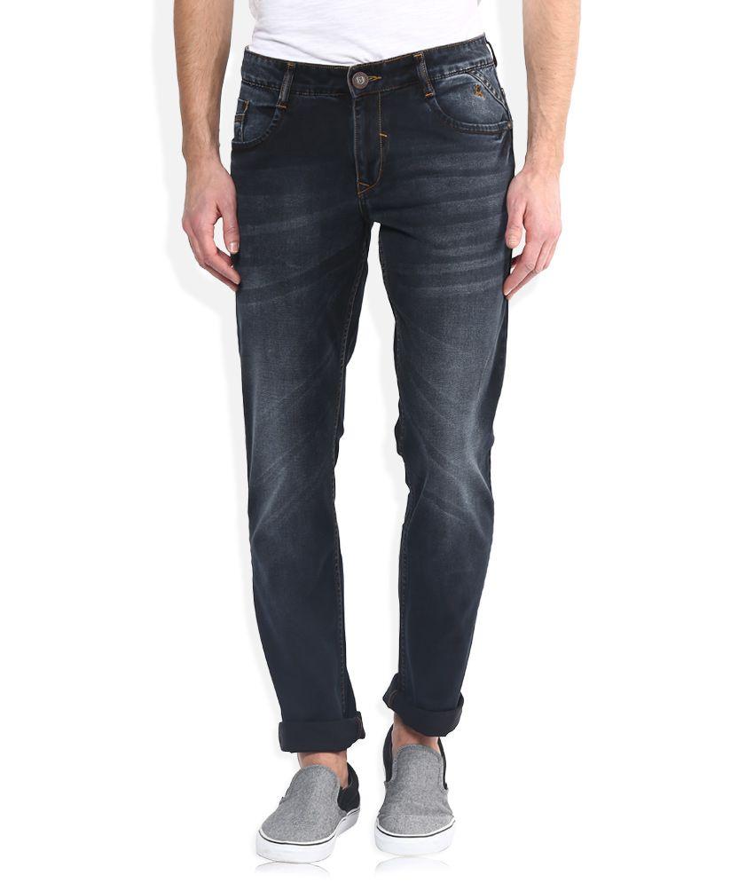 Parx Blue Slim Fit Jeans