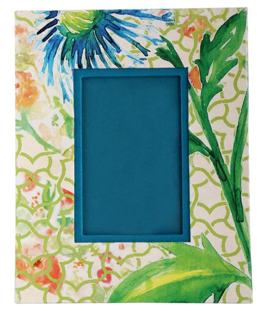 Rajrang Multicolour Cardboard Paper Printed Photo Frame