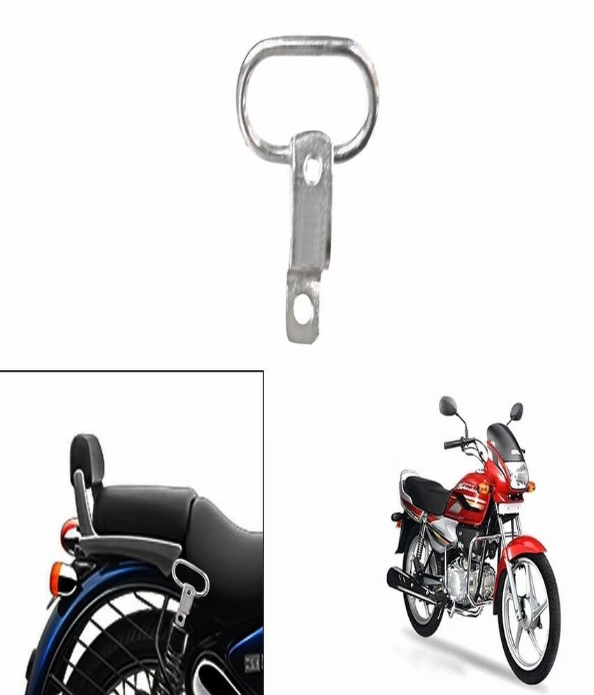 ecfa0493ca0885 Speedwav Bike Pillion Holder Hook Chrome-Hero Super Splendor  Buy Speedwav  Bike Pillion Holder Hook Chrome-Hero Super Splendor Online at Low Price in  India ...